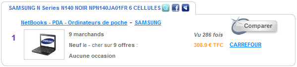 SAMSUNG Netbook N140 V2